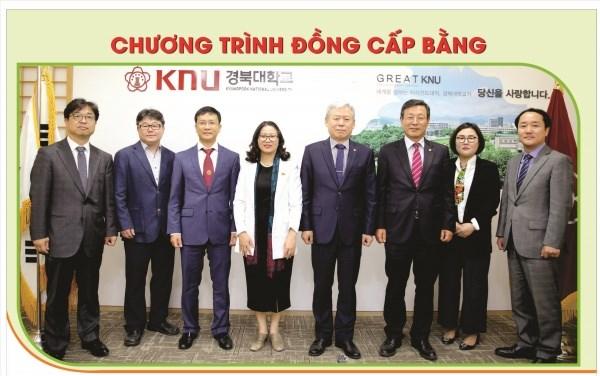 Chương trình đồng cấp bằng với ĐHQG Kyungpook