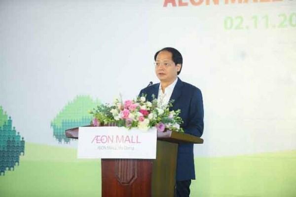 Ông Nguyễn Doãn Toản - Phó Chủ tịch Ủy ban Nhân dân thành phố Hà Nội phát biểu tại Lễ trồng cây