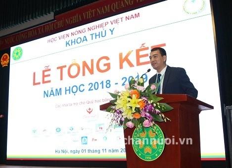 PGS TS Bùi Trần Anh Đào – Phó Trưởng Khoa Phụ trách Khoa Thú y