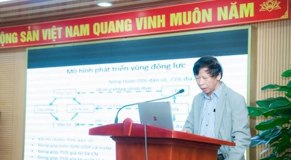 TS. Đặng Kim Sơn – Giám đốc Viện Nghiên cứu Thị Trường và Thể chế Nông nghiệp