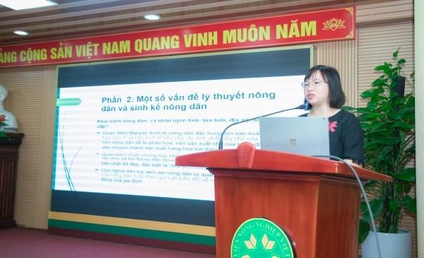 PSG.TS. Nguyễn Thị Diễn, Học viện Nông nghiệp Việt Nam