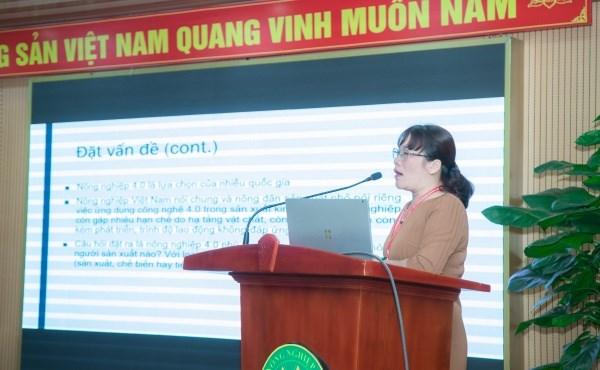 PGS.TS. Nguyễn Phượng Lê, Học viện Nông nghiệp Việt Nam