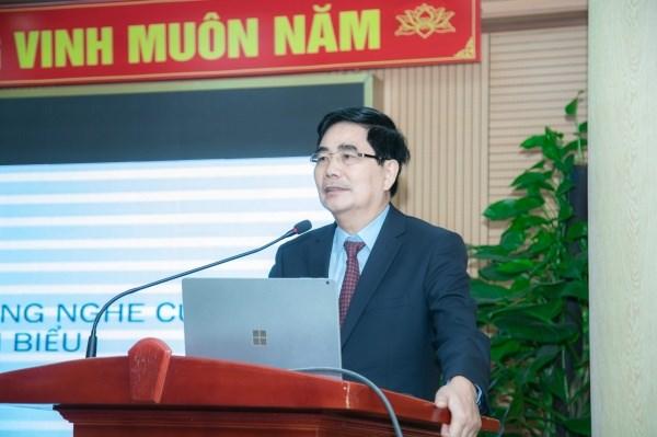 Đồng chí Cao Đức Phát – Uỷ viên Trung ương Đảng, Phó Trưởng Ban Thường trực Ban Kinh tế Trung ương