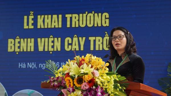 GS.TS Nguyễn Thị Lan - Giám đốc Học viện Nông nghiệp Việt Nam.