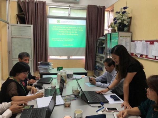 TS. Thiều Thị Phong Thu trình bày về Ảnh hưởng của loại phân hữu cơ thay thế đến tình trạng NPK, sự sinh trưởng và năng suất của cây lúa trong điều kiện đồng ruộng