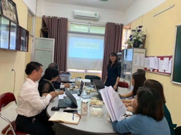 ThS. Nguyễn Hồng Hạnh trình bày chuyên đề Những điểm trọng yếu trong thanh tra sản xuất nông nghiệp hữu cơ theo tiêu chuẩn hữu cơ Nhật Bản (OCP)