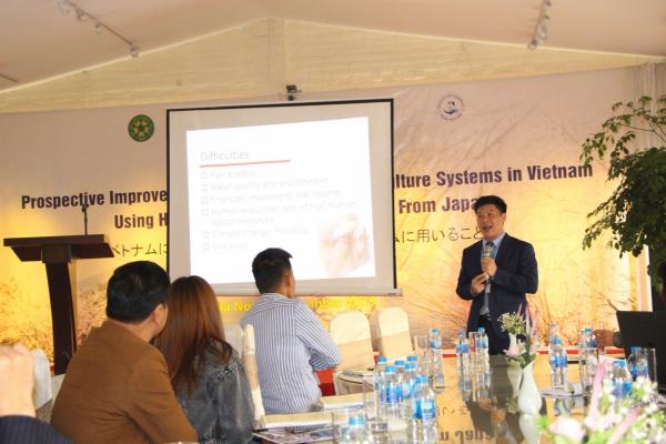PGS.TS. Kim Văn Vạn – Trưởng Khoa Thủy sản