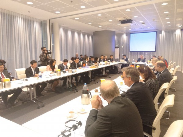 Đoàn công tác tham dự hội đàm với Bộ Nông nghiệp, Thiên nhiên và Chất lượng thực phẩm Hà Lan