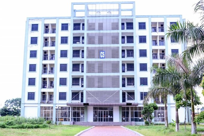 Dormitory for students