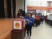 Sinh viên Học viện nô nức đi bầu cử Quốc hội khóa XIV và Hội đồng nhân dân các cấp nhiệm kỳ 2016-2021