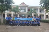 Tuổi trẻ Học viện Nông nghiệp Việt Nam chung tay xây dựng nông thôn mới tại Quỳ Hợp - Nghệ An