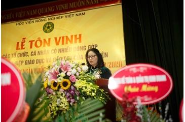 Lễ tôn vinh các tổ chức, cá nhân có nhiều đóng góp cho sự nghiệp giáo dục và đào tạo của HV