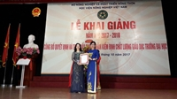 Vietnam National University of Agriculture receives the Certificate of Educational Quality Accreditation