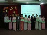 Lễ trao học bổng quỹ Kitano - Nhật Bản và học bổng Chung Soo – Hàn Quốc năm học 2011 – 2012