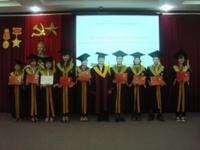 Lễ trao bằng tốt nghiệp cho sinh viên khóa 52 ngành Khoa học Cây trồng đào tạo theo Chương trình tiên tiến
