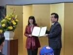 PGS TS Nguyễn Thị Lan nhận danh hiệu Giáo sư danh dự của trường Đại học Thú y, Đại học Tổng hợp Yamaguchi - Nhật Bản