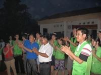 Gặp mặt tình nguyện viên trường ĐH Nông nghiệp HN và trường ĐH Kangwon, Hàn Quốc tại Tân Lập, Hữu Lũng, Lạng Sơn