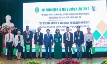 Hội thảo Bệnh lý Thú y châu Á lần thứ 9