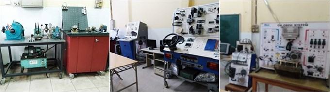 Phòng thí nghiệm phục vụ thực tập