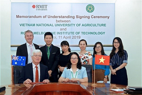 MOU signing with Royal Melbourne Institute of Technology - RMIT University