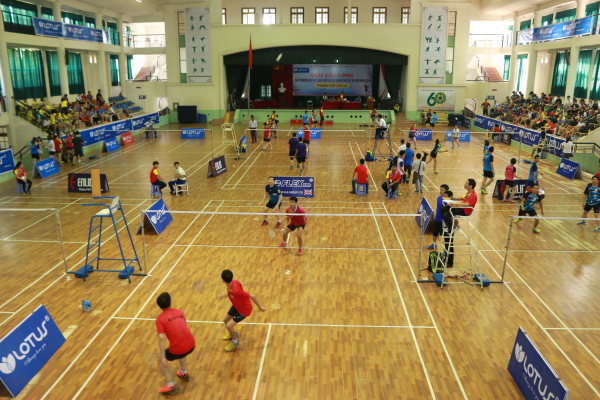 Trung tâm Giáo dục Thể chất và Thể thao, diện tích hơn 5.000 m2