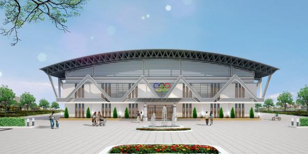 Tòa nhà Phục vụ Đào tạo Giáo dục thể chất trong tương lai