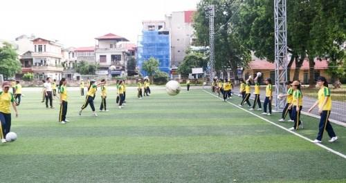 Sân cỏ nhân tạo của Học viện