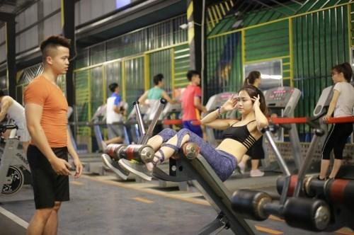 Phòng tập gym với những thiết bị chuyên nghiệp
