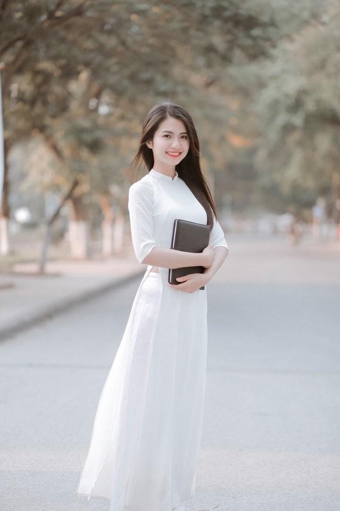 Lê Thị Bích hiện là sinh viên Học viện Nông nghiệp Việt Nam (Ảnh: NVCC)