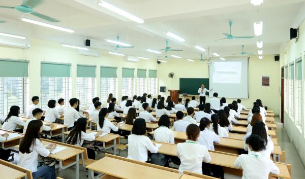 Một tiết học của sinh viên HVN