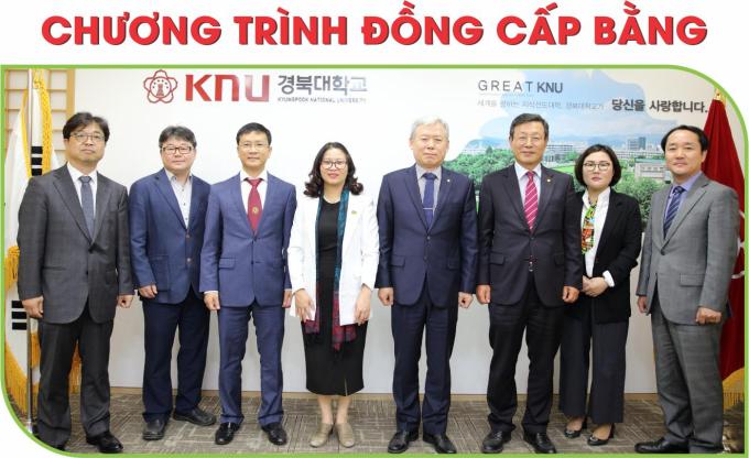Học viện ký hợp tác với Trường Đại học Quốc gia Kyung Pook, Hàn Quốc (KNU) về chương trình đồng cấp bằng