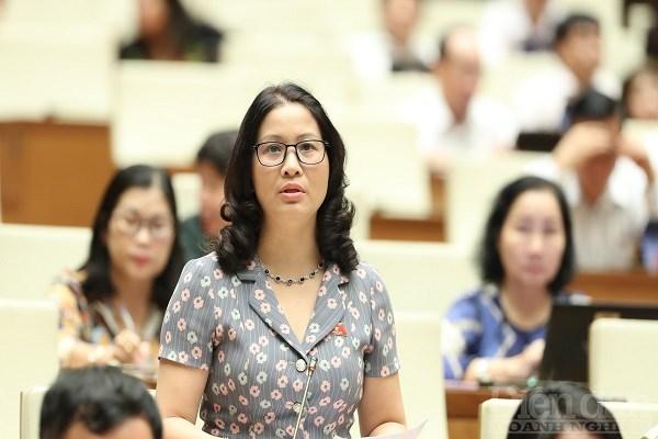 GS.TS Nguyễn Thị Lan - Giám đốc Học viện Nông nghiệp Việt Nam, Đại biểu Quốc hội Thành phố Hà Nội