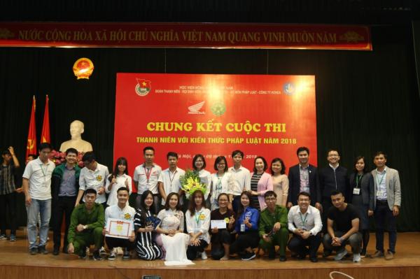 Cuộc thi Thanh niên với kiến thức pháp luật (2018)