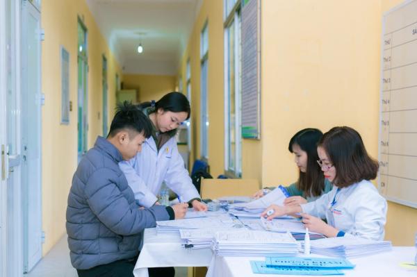 Học viện tổ chức khám sức khỏe định kỳ cho cán bộ, viên chức và người lao động