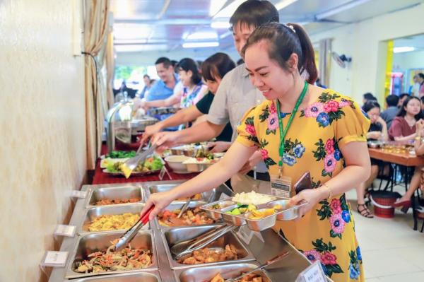 Học viện thông qua đề án ăn trưa cho cán bộ, viên chức với mức hỗ trợ 15.000đ/suất