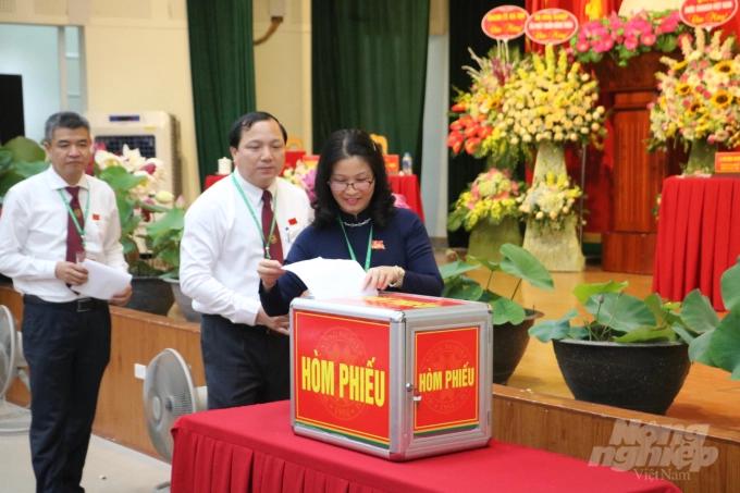 Đại hội Đại biểu Đảng bộ Học viện Nông nghiệp Việt Nam nhiệm kỳ 2020-2025 diễn ra nghiêm túc, chu đáo, thành công, tốt đẹp. Ảnh: HG
