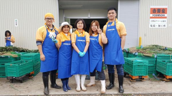 Sinh viên thực tập ngắn hạn về công nghệ sau thu hoạch tại Nhật Bản