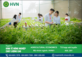 Kinh tế nông nghiệp chất lượng cao - Bắt kịp xu thế nông nghiệp thông minh 4 0