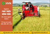 Ngành Phát triển nông thôn Vì một nông thôn bền vững và thịnh vượng