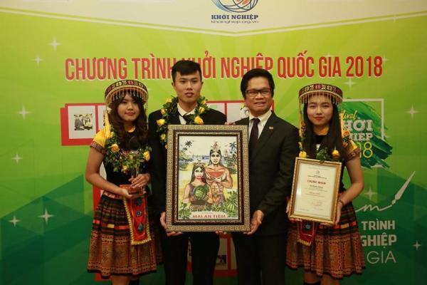 Ông Nguyễn Thanh Bình – Cựu sinh viên khóa 59, vô địch Khởi nghiệp quốc gia năm 2018