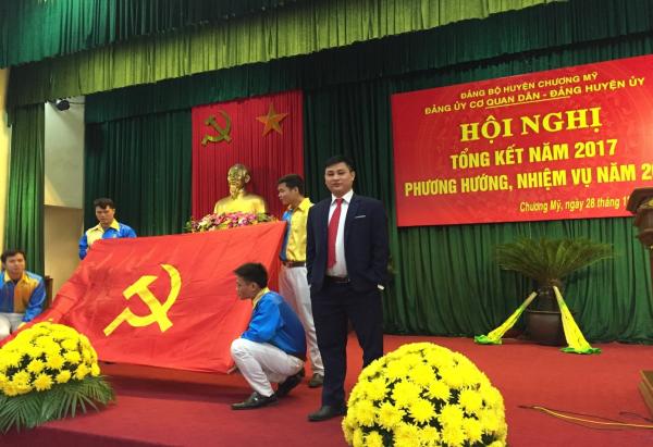 Lương Xuân Tình - Cựu sinh viên ngành Xã hội học (Khóa 55), hiện đang công tác tại Liên đoàn Lao động huyện Chương Mỹ, Hà Nội