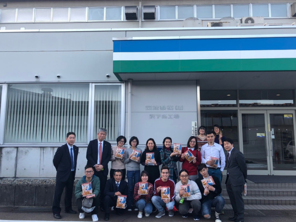 Sinh viên Học viện tha gia chương trình trao đổi sinh viên quốc tế tại Nhật Bản