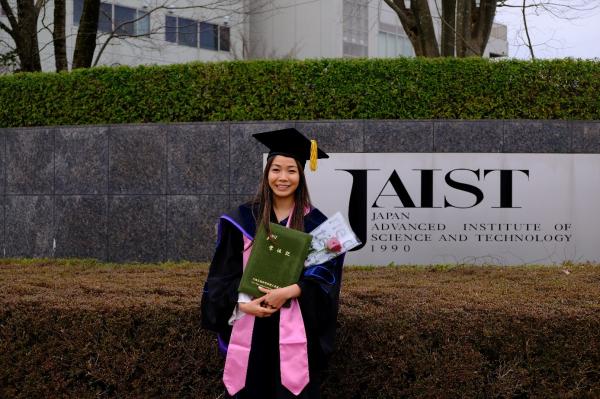 Cô Đoàn Thị Thu Hà – Giảng viên Khoa Công nghệ Thông tin tốt nghiệp tiến sỹ tại Viện Khoa học và Công nghệ tiên tiến Nhật Bản