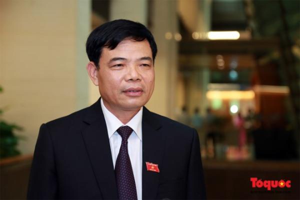 Ông Nguyễn Xuân Cường - Cựu sinh viên lớp Cây trồng K22, HVN, Bộ trưởng Bộ Nông nghiệp và Phát triển Nông thôn