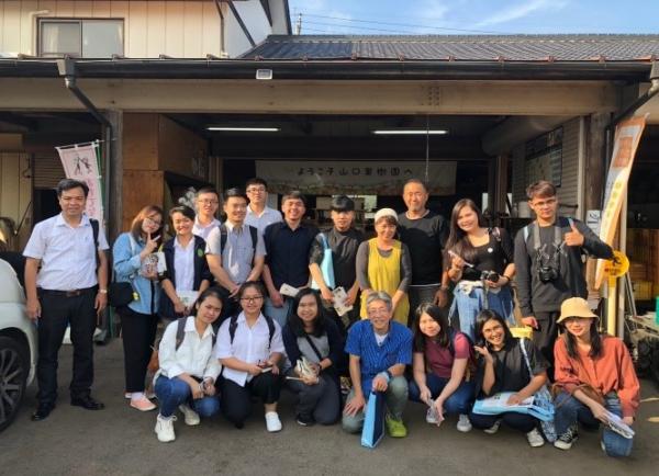 Sinh viên ngành Khoa học cây trồng tiên tiến tham gia trao đổi sinh viên tại Nhật Bản