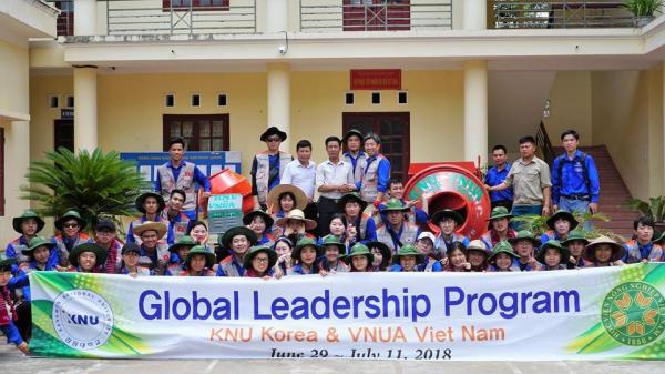Sinh viên ngành Khoa học cây trồng tiên tiến tham gia chương trình Global Leadership Program