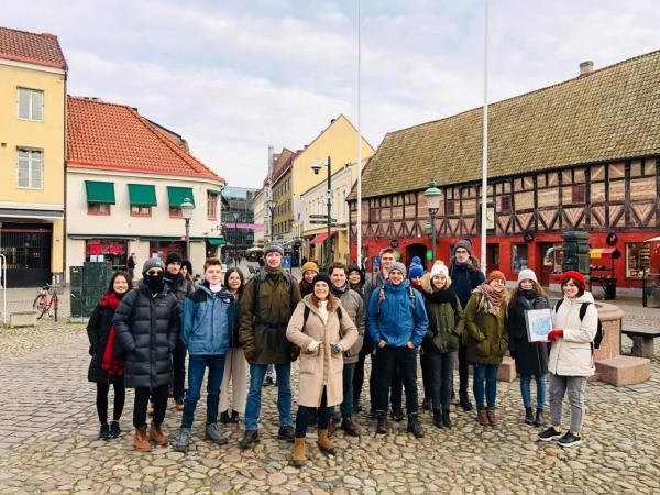 Sinh viên Học viện tham gia chương trình trao đổi sinh viên tại Đại học Khoa học Nông nghiệp Thụy Điển (SLU)