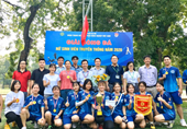 Chung kết giải bóng đá nữ sinh viên truyền thống năm 2020