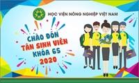 Tân sinh viên khóa 65 Học viện Nông nghiệp Việt Nam – Sự bắt đầu đặc biệt