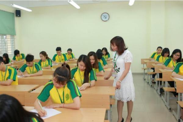 Một tiết học tại Học viện Nông nghiệp Việt Nam